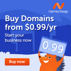 Domains for just 99 Cents
