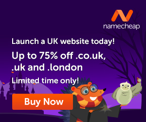 Launch a UK website today!