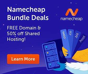Free Domain and 50% off Shared Hosting