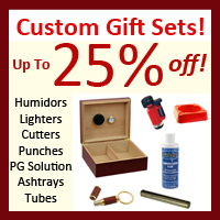 Gift sets Humidor lighter cigar aficionado