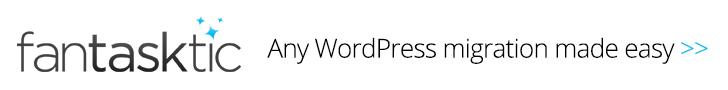 Fantasktic WordPress Support