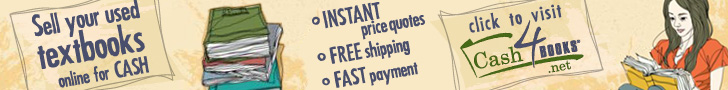Sell used textbooks online. Get fast cash and FREE shipping at Cash4Books.net