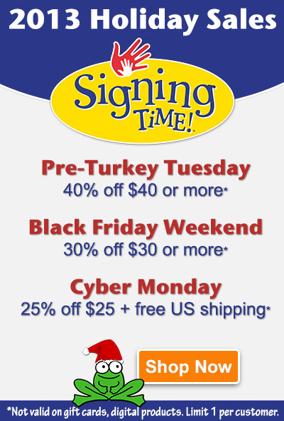 Holiday Sales at Signing Time - Save up to 40%!