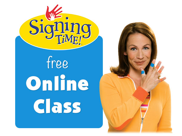 Free Signing Time Online Class!
