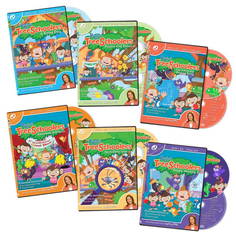 Rachel and the TreeSchoolers Complete Set