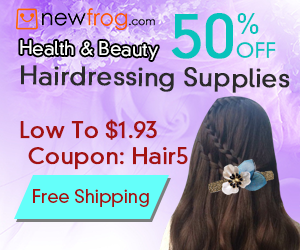 50% OFF Hairdressing Supplies, Low To $1.93, Coupon: Hair5