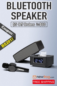 Bluetooth Speaker, $5 OFF $60+