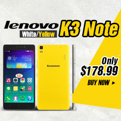 "Lenovo K3 Note 5.5"" MTK6752 Octa-core 64 Bit Android 5.0 4G Smartphone"