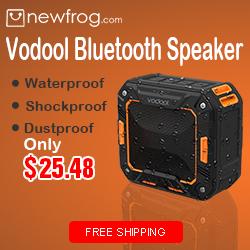 Vodool Bluetooth Speaker - Only 25.48$@Newfrog.com