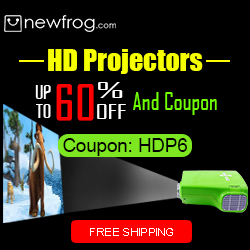 HD Projectors - Up to 60% off and Coupon@Newfrog.com