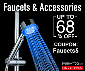 Extra 5% Off Coupon: Faucets5