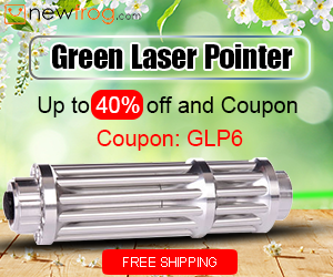 Green Laser Pointer - Up to 40% off and Coupon: GLP6