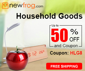 Household Goods-Up to 50% off and Coupon: HLG8
