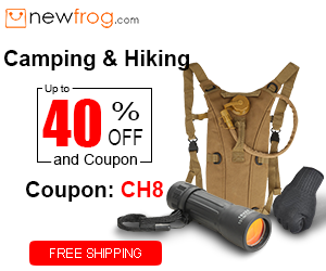 Camping & Hiking-Up to 40% off and Coupon CH8