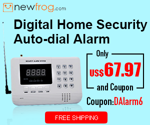 Digital Home Security Auto-dial Alarm-Only US$67.97 and Coupon