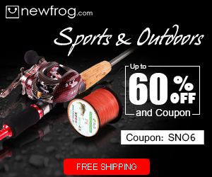 Sports & Outdoors - Up to 60% off and Coupon: SNO6