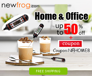up to 50% off + 8% coupon for home &office