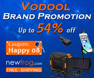 Vodool Brand Promotion- up to 54% off