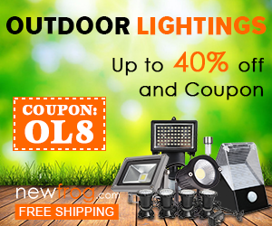 Outdoor Lightings-Up to 40% off and Coupon: OL8