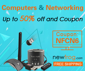 Computers & Networking - Up to 50% off and Coupon: NFCN6