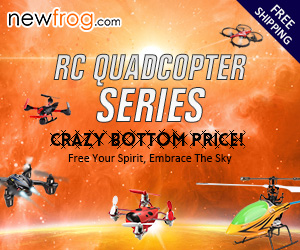 55% off for RC Quadcopter Series