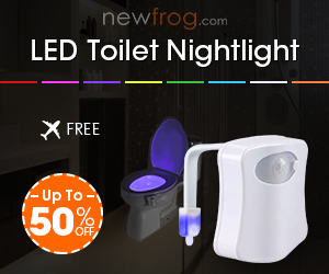LED Toilet Nightlight-Up to 50% off