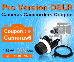 Pro Version DSLR Cameras Camcorders-Coupon