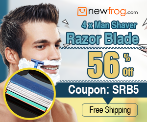 4 x Man Shaver Razor Blade-56% Off and Coupon: SRB5