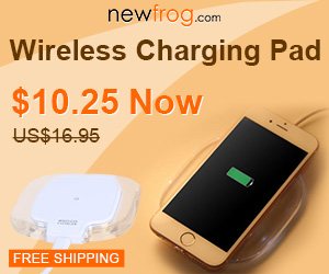 Wireless Charging Pad White, Was $16.95, now $10.25