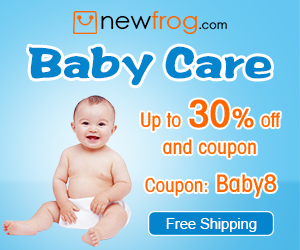 Baby Care-Up to 30% off and Coupon: Baby8