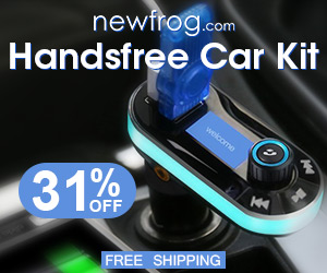 Handsfree Car Kit-31% Off