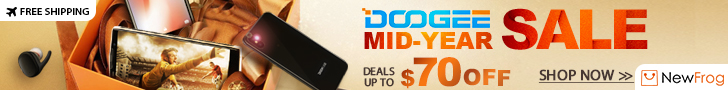 Doogee Mid-Year Sale, Deals Up To $70 OFF