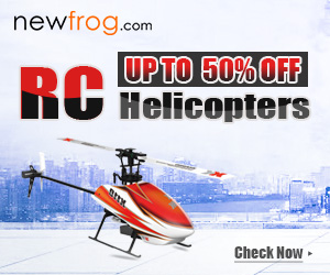 Enjoy the joy of playing RC Helicopters - Up to 50% off