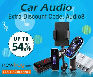 Extra 8% Discount Code: Audio8