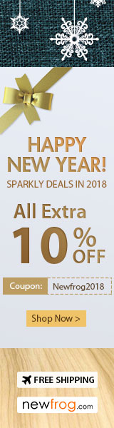 Happy New Year! All  Extra 10% OFF Together With Sparkly Deals in 2018