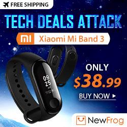 [Tech Deals Attack] Xiaomi Mi Band 3, Only $38.99