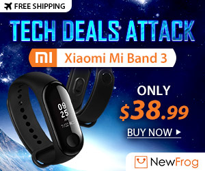 [Tech Deals Attack] Xiaomi Mi Band 3, Only $38.99