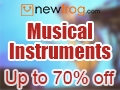 Musical Instruments-Up To 70% Off and Coupon: Music6