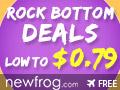 Rock Bottom Deals, Low To $0.79