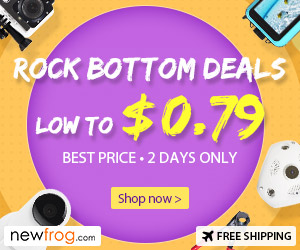 Rock Bottom Deals, Low To $0.79