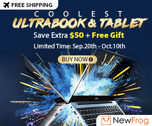 Coolest Ultrabook & Tablet, Save $50 with Code: Ultra50