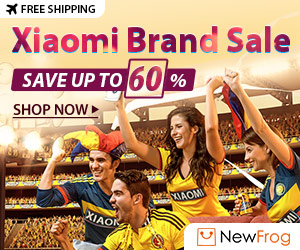 Xiaomi Brand Sale, Save Up To 60%