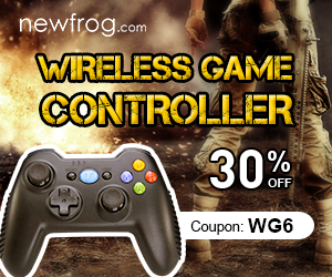 Wireless Game Controller-30% Off and Coupon:WG6