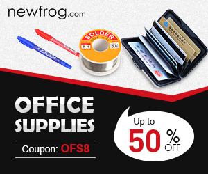 Office Supplies-Up to 50% off and Coupon: OFS8