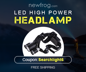 LED Searchlight Handheld High Power Headlamp-Coupon
