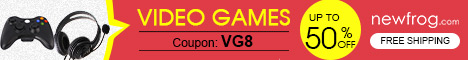 Video Games-Up to 50% off and Coupon: VG8