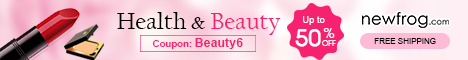 Health & Beauty - Up to 50% off and Coupon@Newfrog.com