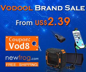 Vodool Brand Sale-From US$2.39 and Coupon