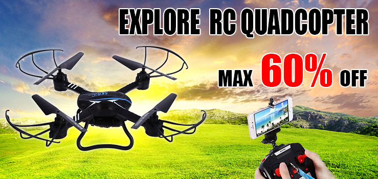 Explore RC Quadcopter, Max 60% OFF