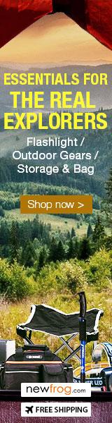 Flashlights/Outdoor Gears/Storage & Bag